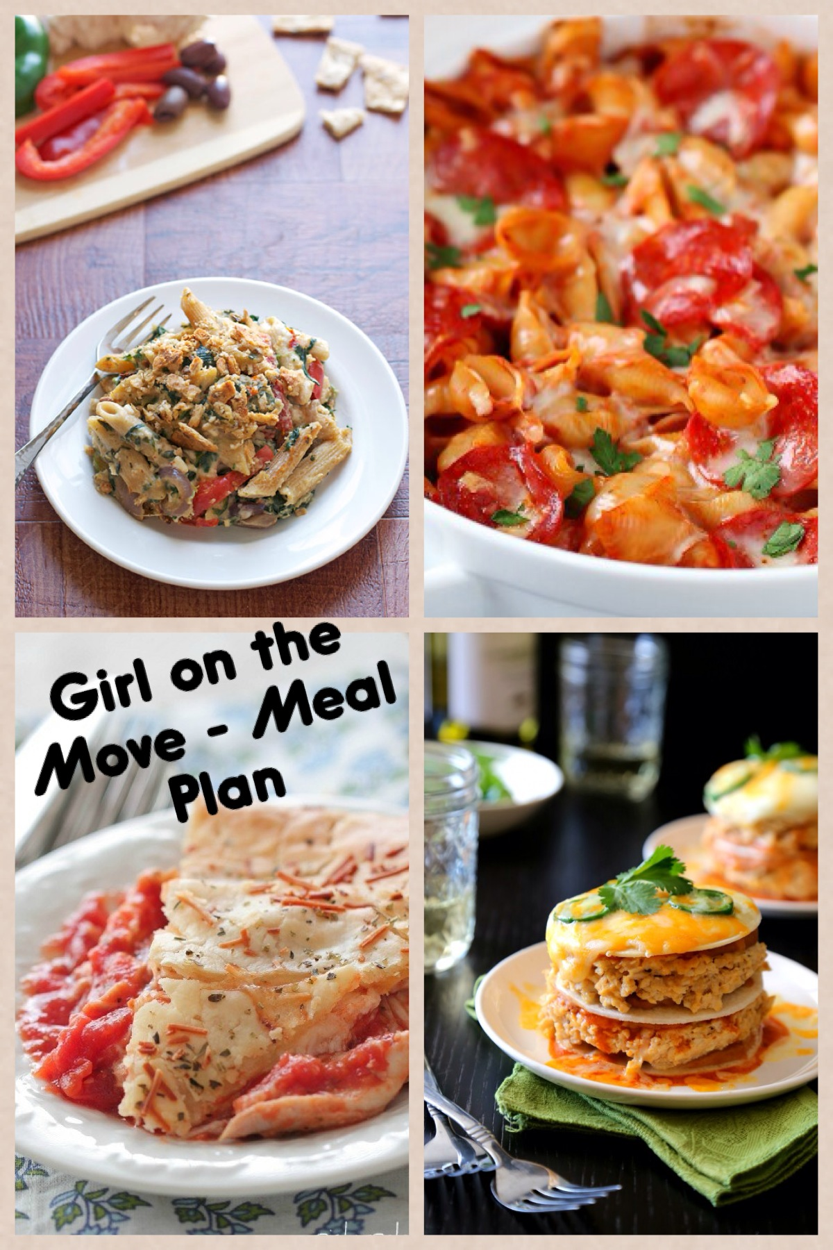 Menu Plan Week Five | Girl on the Move Blog