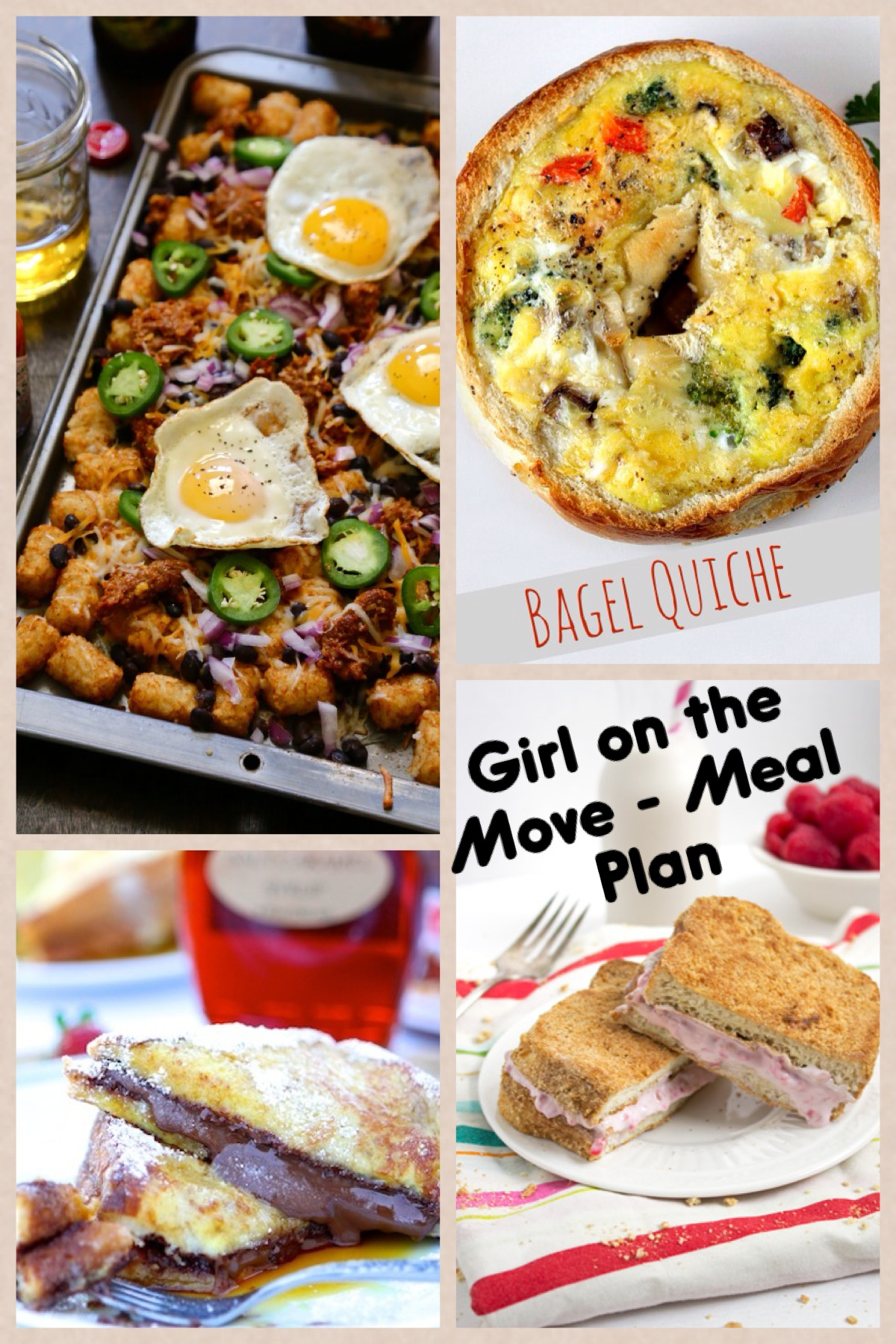 Meal Plan Week 7 | Girl on the Move Blog