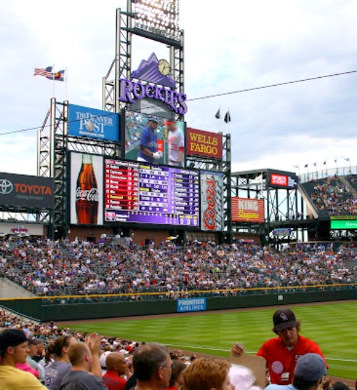 Rockies at Coors Field | Girl on the Move Blog