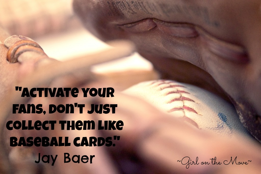 Baseball Cards Jay Baer #write31days #blogging #socialmedia