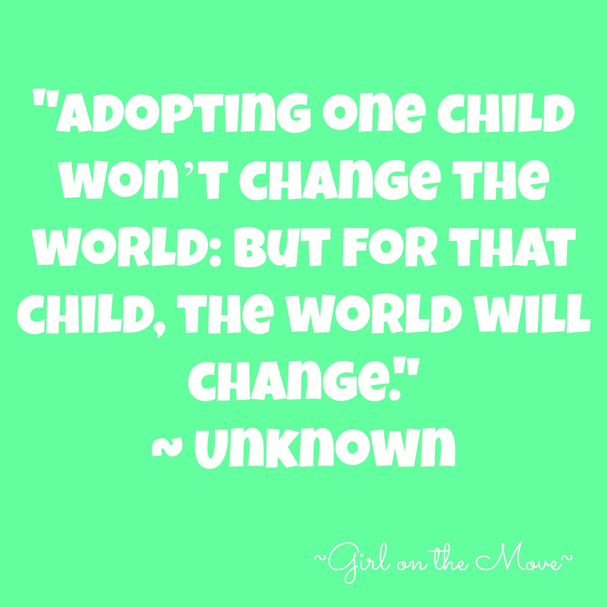 Adoption Awareness Month |