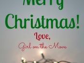 Merry Christmas Love GOTM