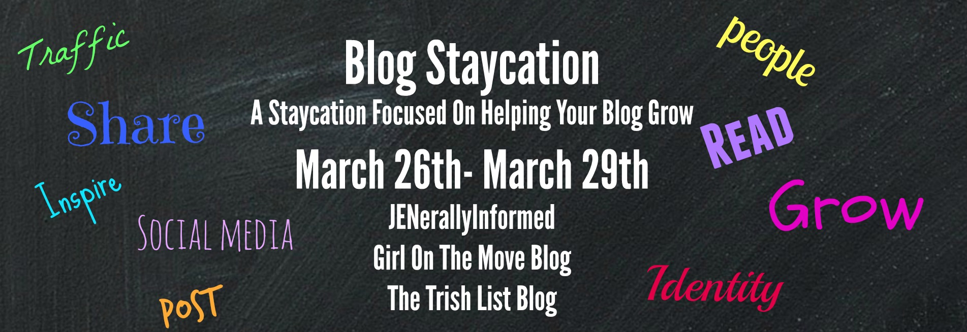 A Blog Staycation to help you catch up on your blogging to do list