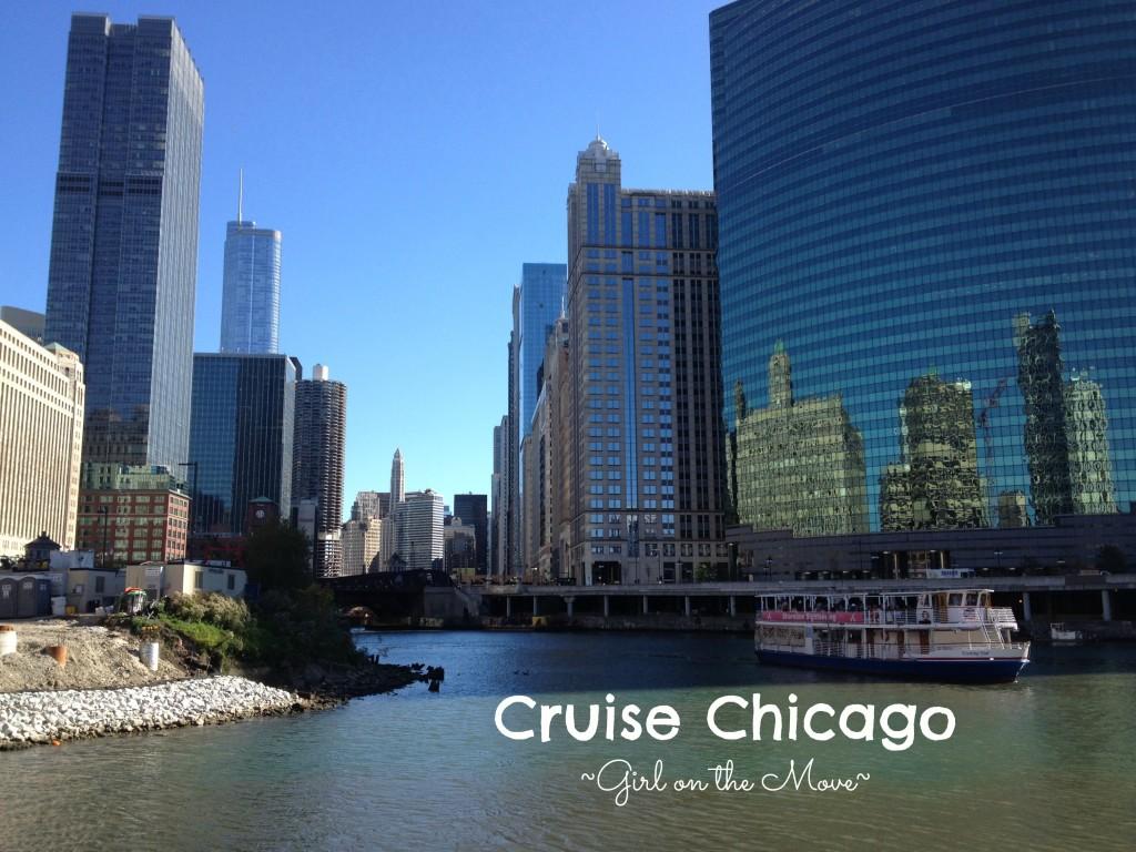 Chicago River Cruise architecture