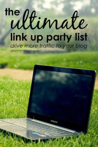 Ultimate link up party list with over 130 link up parties