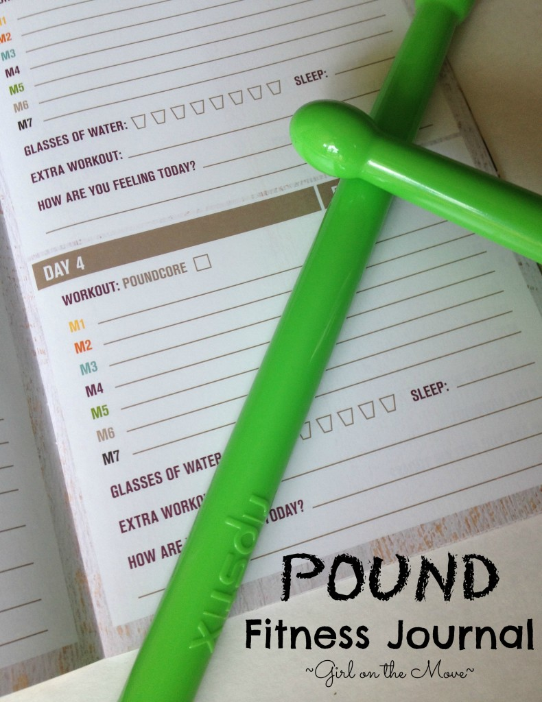 Pound Fitness Journal