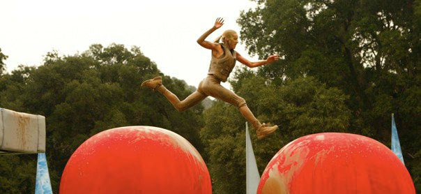 Sheila on Wipeout's Big Red Balls