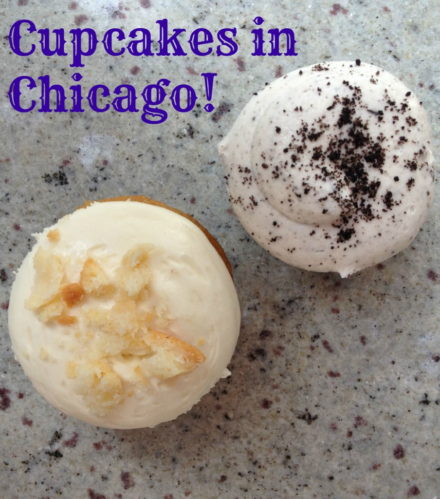 Cupcakes in Chicago with Girl on the Move