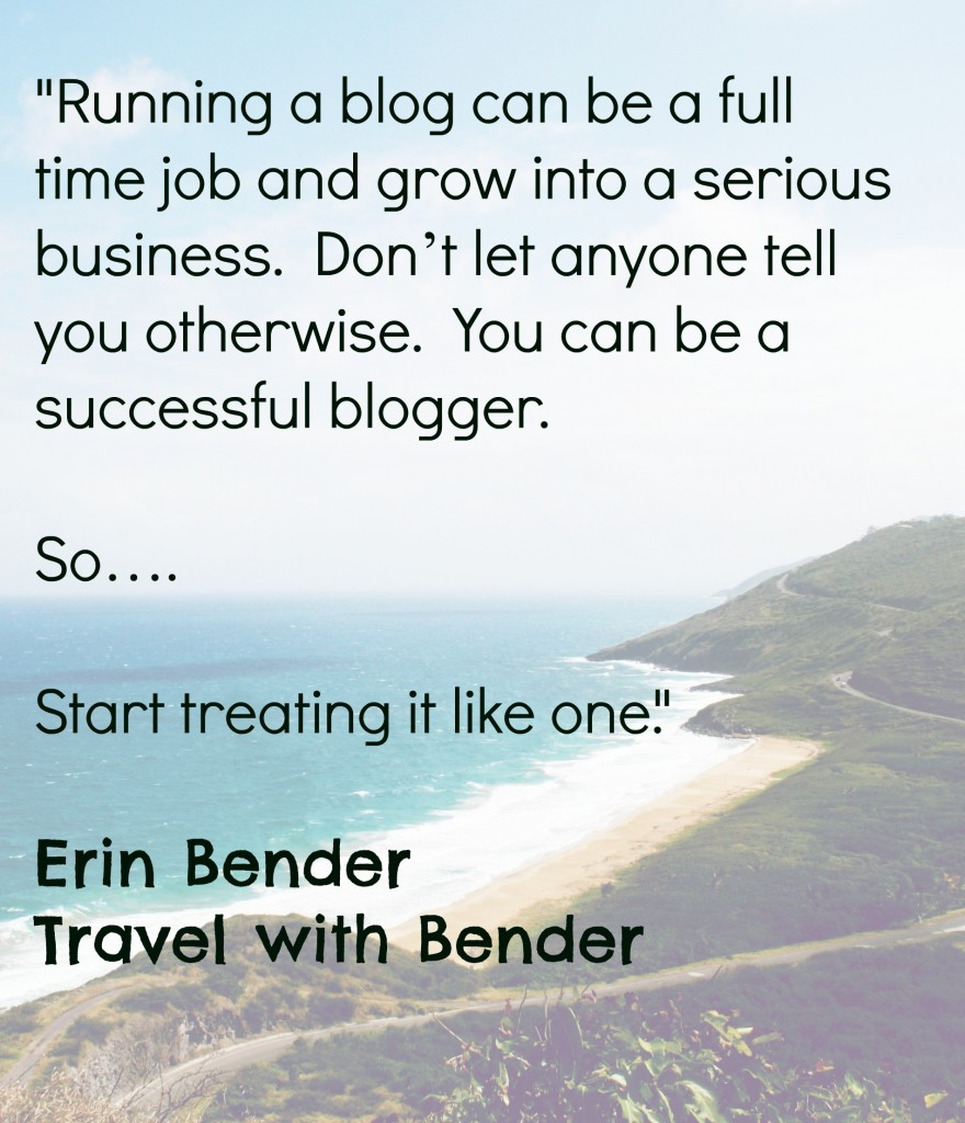 Blogging Lessons - Treat your blog as a business to reach successful monetization