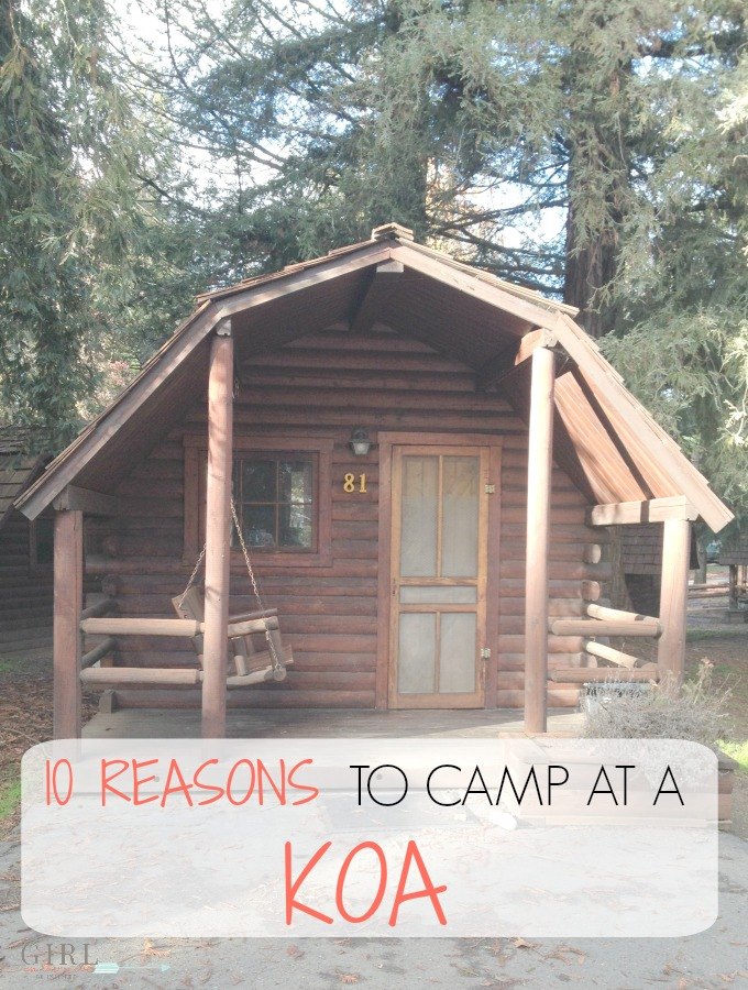 10 reasons to book a KOA camping trip all year-long. KOA campgrounds are fun for families using tents, cabins or RV parks during their road trip travels.