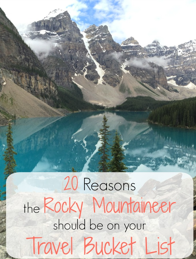 20 reasons you should board the Rocky Mountaineer train to enjoy the scenery of Canada in spots including Vancouver, British Columbia, and more!