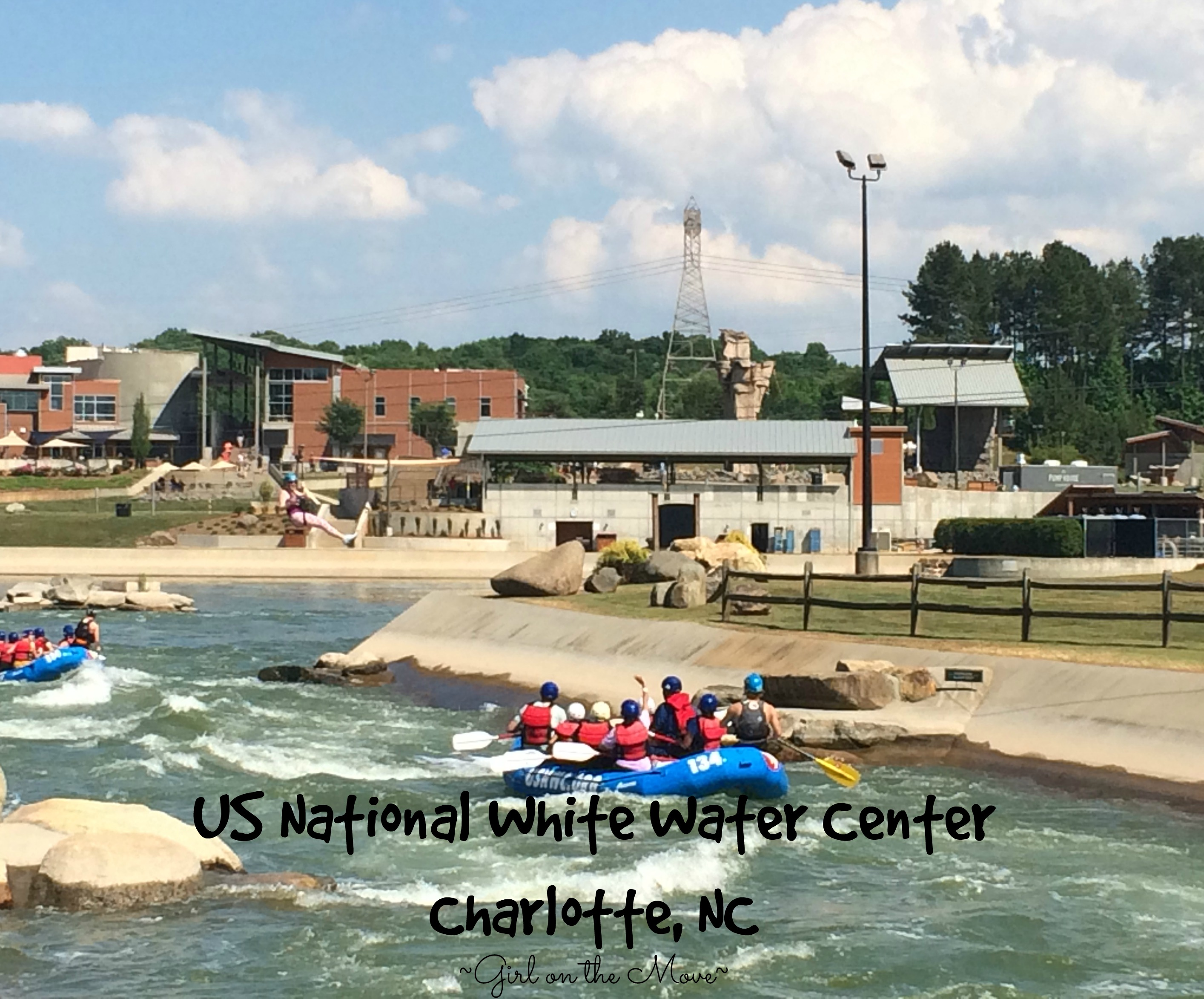 Ziplining, white water rafting, hiking and more at the US National White Water Center