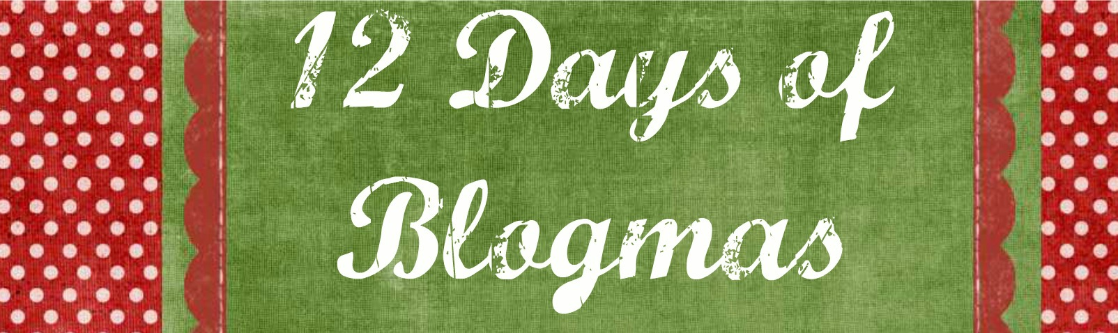 12 Days of Christmas blog series