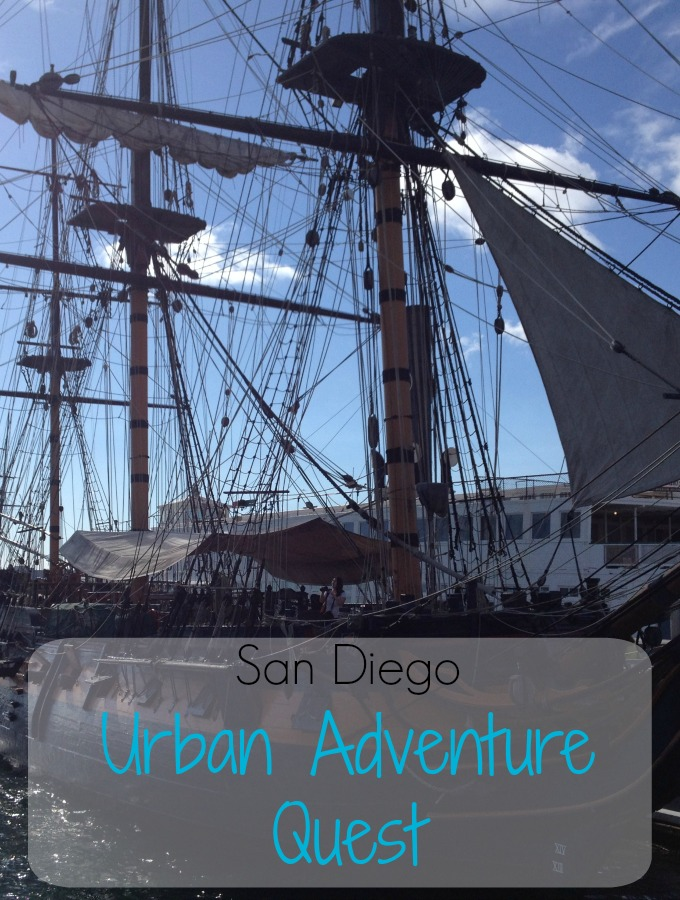 If you're looking for things to do in San Diego, California on your next vacation, you'll want to check out this Urban Adventure Quest to explore the area!