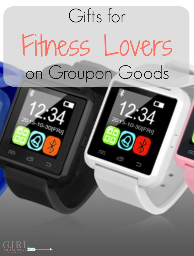 Use these ideas to shop for the fitness lovers in your life with Groupon Goods. You can use all of the money you save to buy a treat for you!