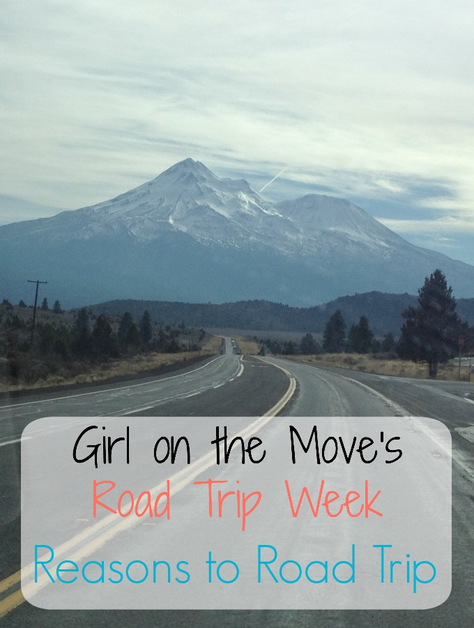 Celebrating road trip week with reasons to road trip, a few dream road trips, road trip tips, roadside attractions and a road trip journal for commemoration