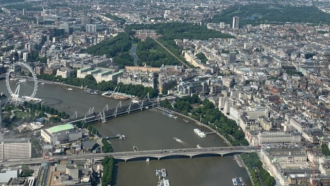 London: A Birds Eye View
